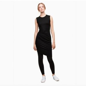 Aritzia Babaton Notley felted wool knit dress